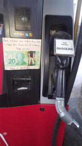Kindness at Gas Stations